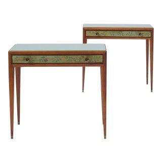 Osvaldo Borsani Side Tables