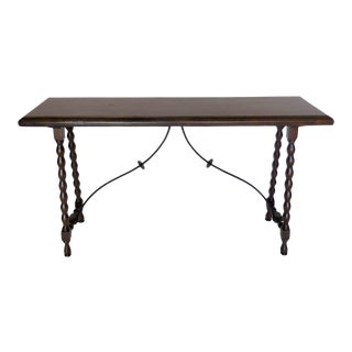 Custom Bobbin Console With Iron Stretcher For Sale