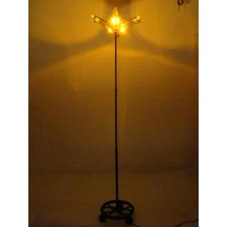 Modern Repurposed Crystal Articulating Floor Lamp Preview