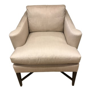Hickory Chair Sunbrella Upholstered Montgomery Chair For Sale