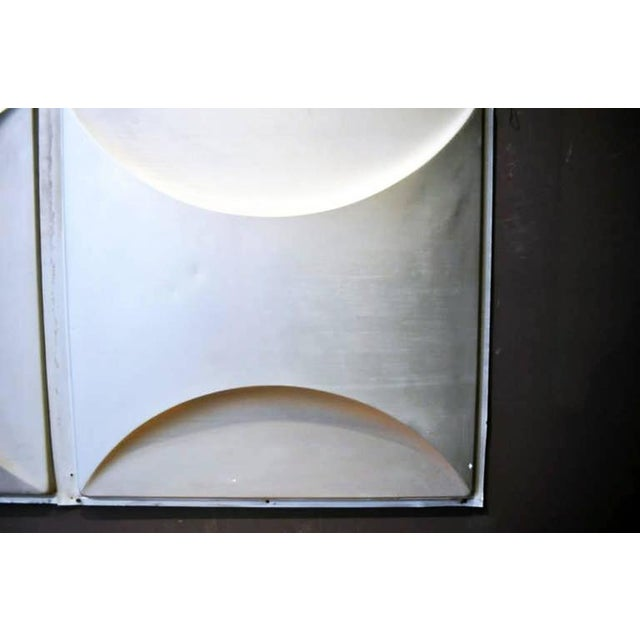 1960s Vintage Aluminum Wall Panels- Set of 9 For Sale - Image 5 of 10