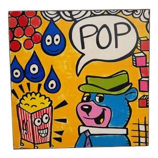 Pop Art Modern Silkscreen Serigraph Print For Sale