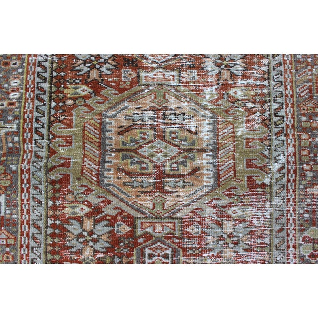 1930s Semi Antique Karadjeh Rug - 2′11″ × 4′5″ For Sale - Image 9 of 11