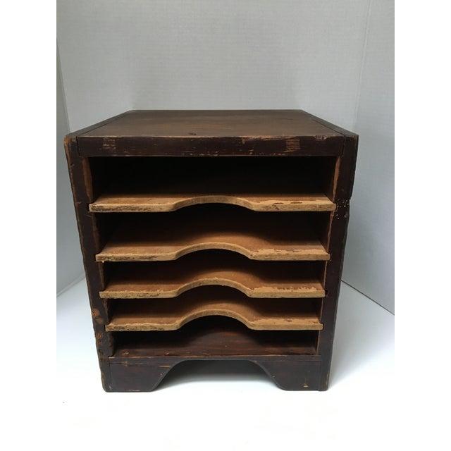 Vintage Wooden Paper Sorter - Image 3 of 11