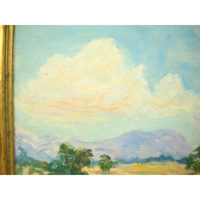 1930s California Landscape Oil Painting For Sale In Orlando - Image 6 of 9
