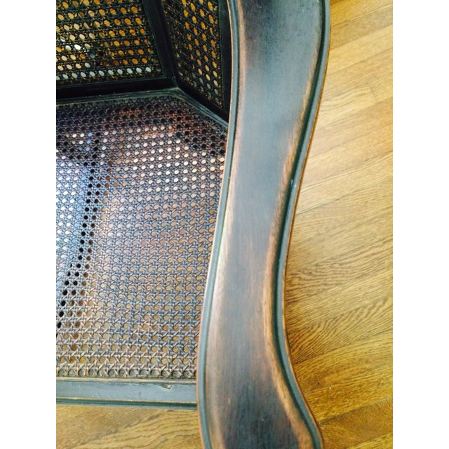 Vintage Wood & Cane Rocking Chair - Image 4 of 8