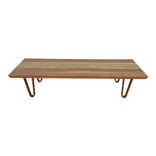 Mid Century Modern Edward Wormley for Dunbar Bench For Sale