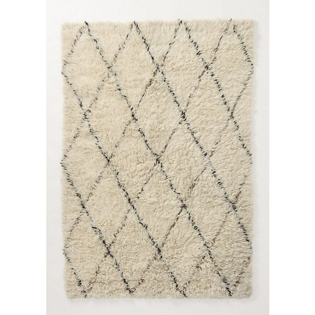Anthropologie Anthropologie Amala Flokati Rug - 5″ × 7″ For Sale - Image 4 of 4