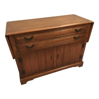 Stickley Solid Oak Server Buffet For Sale