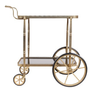 1950s Regency-Style Bar Trolley