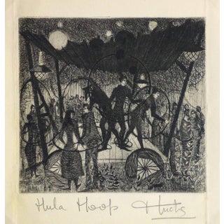 "Huchs ""Hula Hoop"" Etching For Sale"