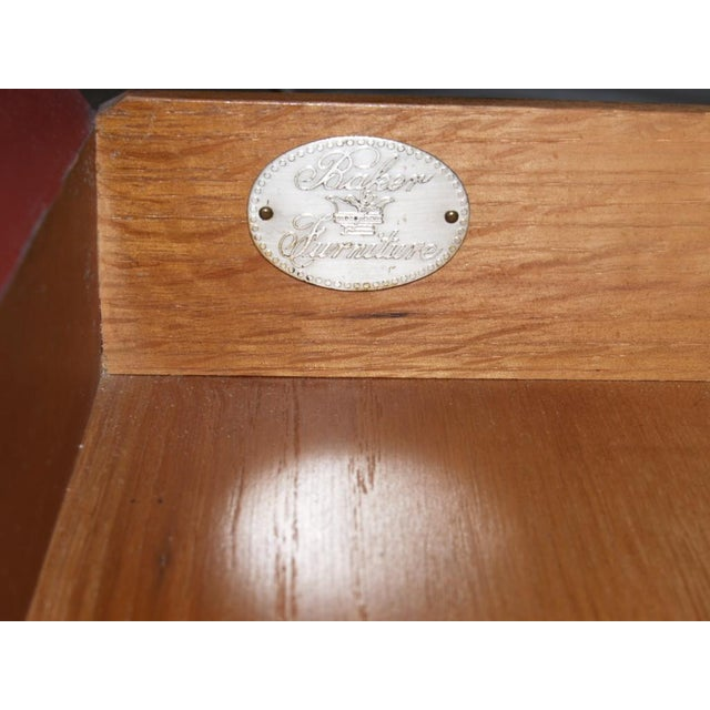 Metal Michael Taylor for Baker Side Tables - a Pair For Sale - Image 7 of 8