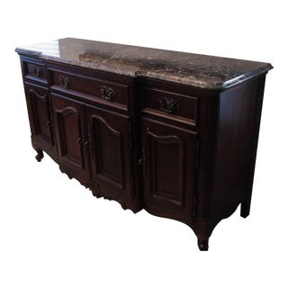 Berhardt Solid Wood Buffet For Sale