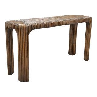 Bamboo Hall Table