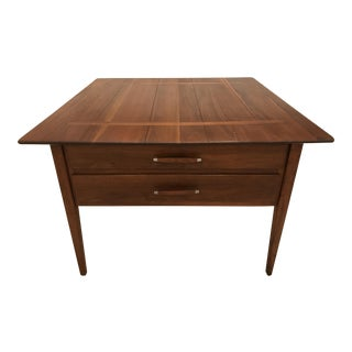 Conant Ball Vintage Mid-Century Walnut End Table