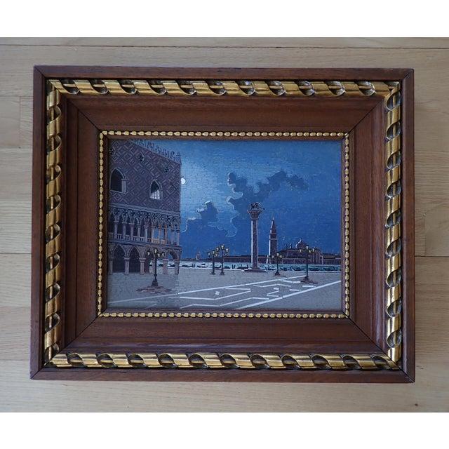 19th Century Italian Micromosaic Plaque For Sale - Image 13 of 13