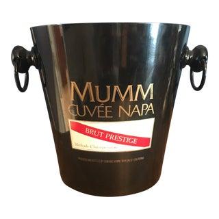 Black Mumm Cubée Napa Champagne Bucket
