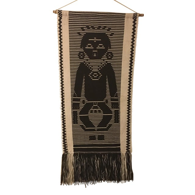 Vintage Tribal Tapestry Wall Hanging - Image 1 of 5
