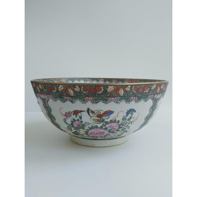 1970s Chinoiserie White Ironstone Decorative Bowl For Sale In Charleston - Image 6 of 6