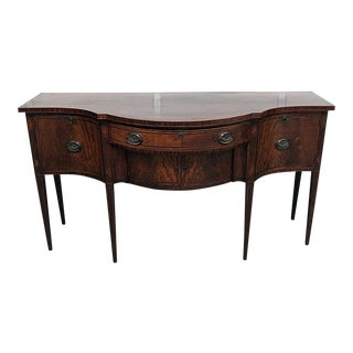20th Century Federal Craftsman Inlaid Sideboard For Sale