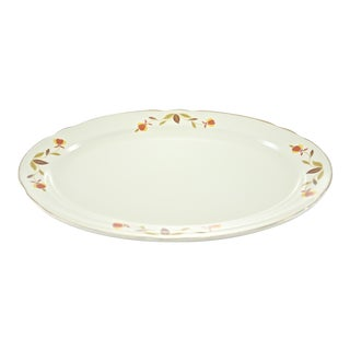 Leaf & Vine Oval Tray For Sale