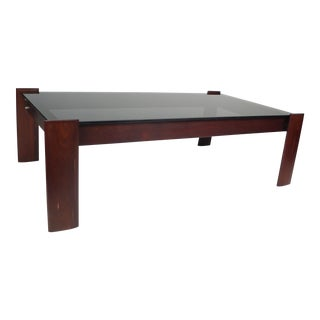 Percival Lafer Coffee Table in Jacaranda Rosewood For Sale