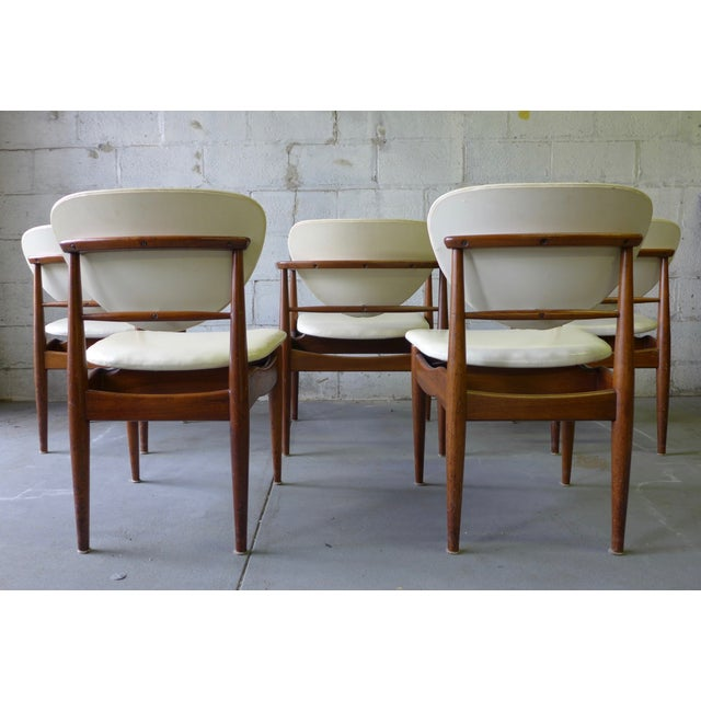 Mid-Century John Stuart Dining Chairs - S/6 For Sale In New York - Image 6 of 7