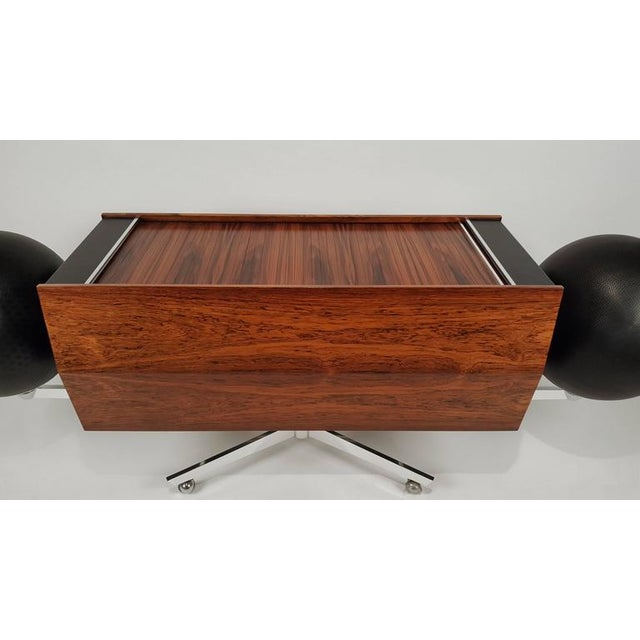 1960s First Generation Clairtone Project G T4 Rosewood Stereo System For Sale - Image 5 of 11