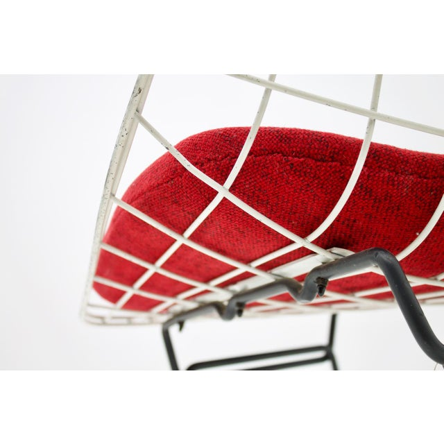 Early Wire Chair by Cees Braakman for Pastoe, 1958 For Sale - Image 9 of 12