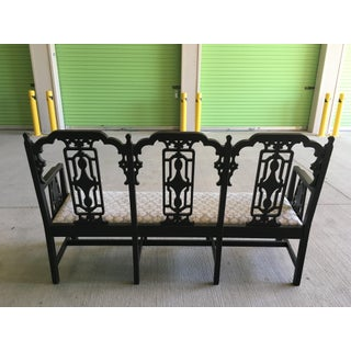 Chinese Chippendale Bench Settee Preview