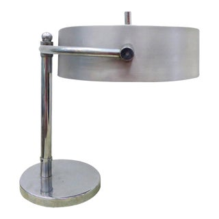 Art Deco Directional Table Lamp by Kurt Versen For Sale