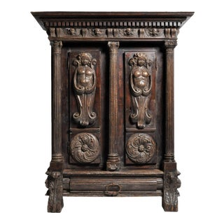 18th Century Renaissance Revival Armoire For Sale