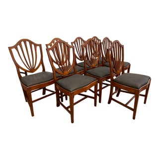 Early 20th Century Irving & Casson Dining Chairs - Set of 8 For Sale