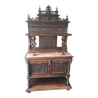 19th Century French Renaissance Revival Hunt Server For Sale