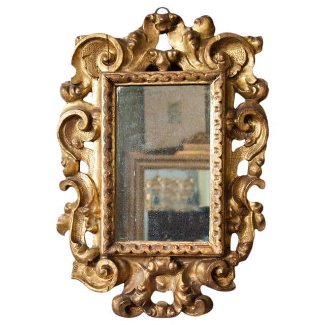 Italian Baroque Giltwood Mirror - Image 1 of 8