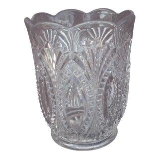 Vintage Pressed Glass Spooner