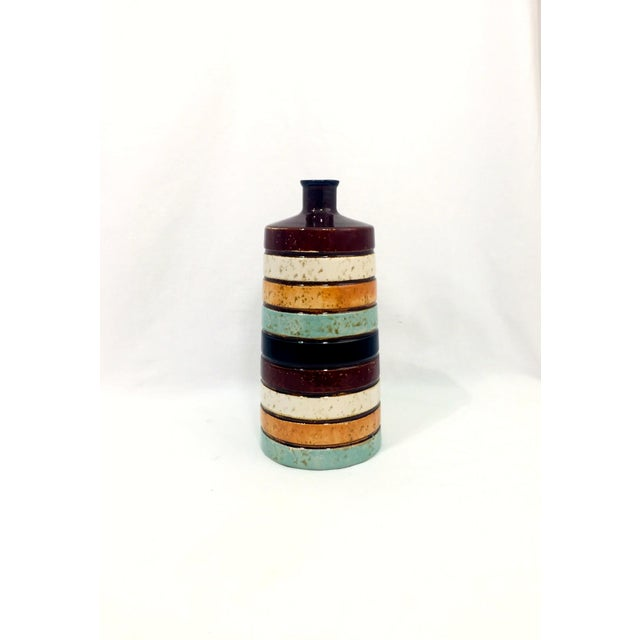 Ceramic Midcentury-Style Bud Vase For Sale In Raleigh - Image 6 of 6