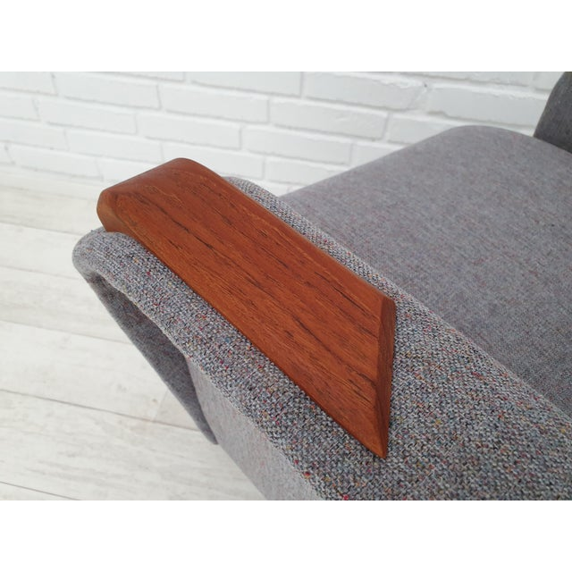 1970s Vintage Danish Lounge Chair For Sale - Image 9 of 13