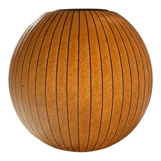 George Nelson Howard Miller Hanging Sphere Bubble Lamp For Sale
