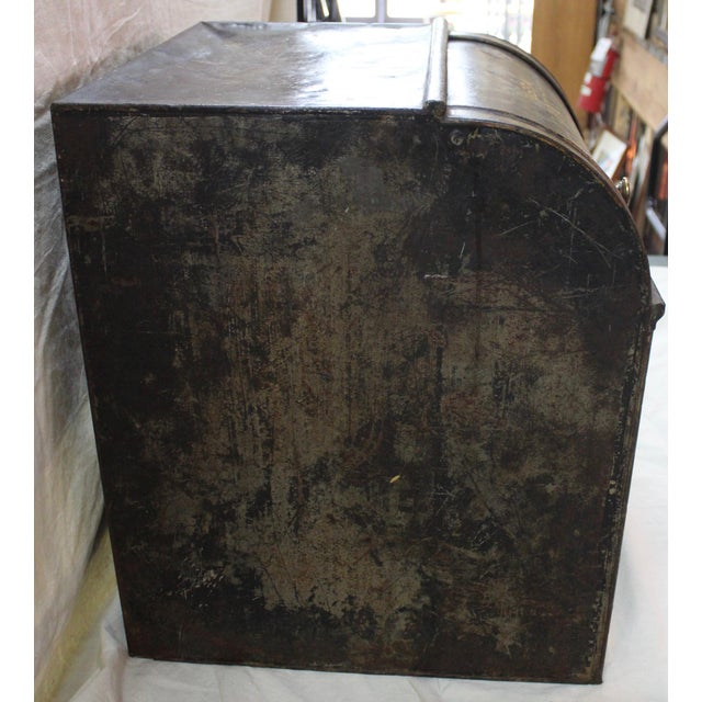 Antique Tea Bin/Side Table For Sale In Milwaukee - Image 6 of 13