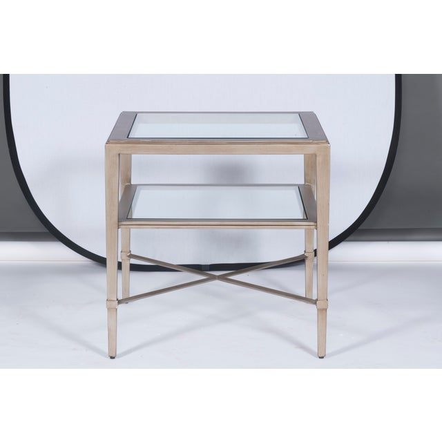 Neoclassical Vanguard Furniture Sallinger Side Table For Sale - Image 3 of 3