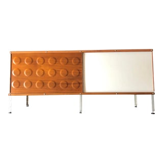 "1940s Mid-Century Modern Herman Miller ""Eames"" Style One Level Storage Container (By Modernica) For Sale"