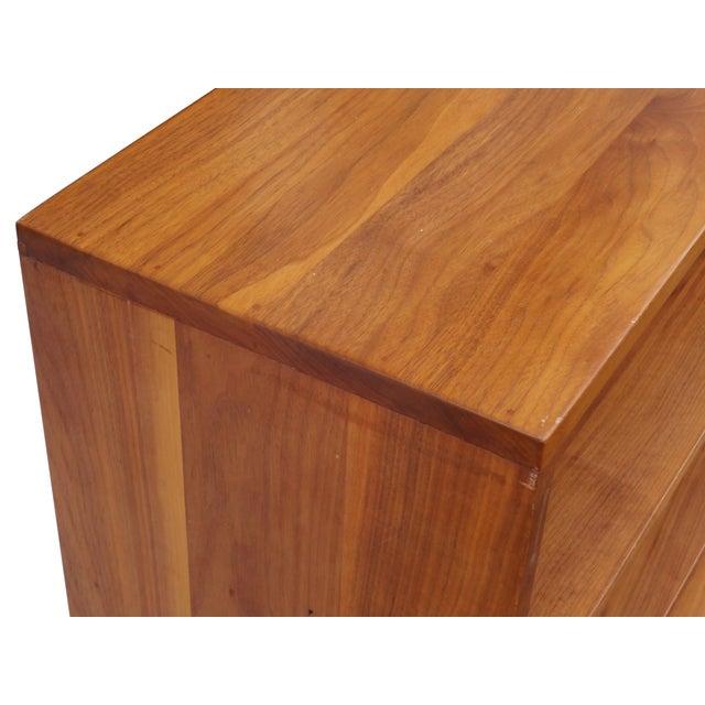 Solid Walnut Studio Bookshelf - Image 4 of 10