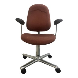 1970s Polished Aluminum Ergon Task Chair by Herman Miller For Sale