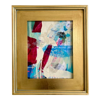 """Jessalin Beutler """"Double Exposure"""" 2021 Framed Painting For Sale"""