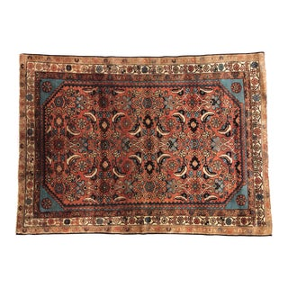 Middle Eastern Hand Knotted Rug For Sale