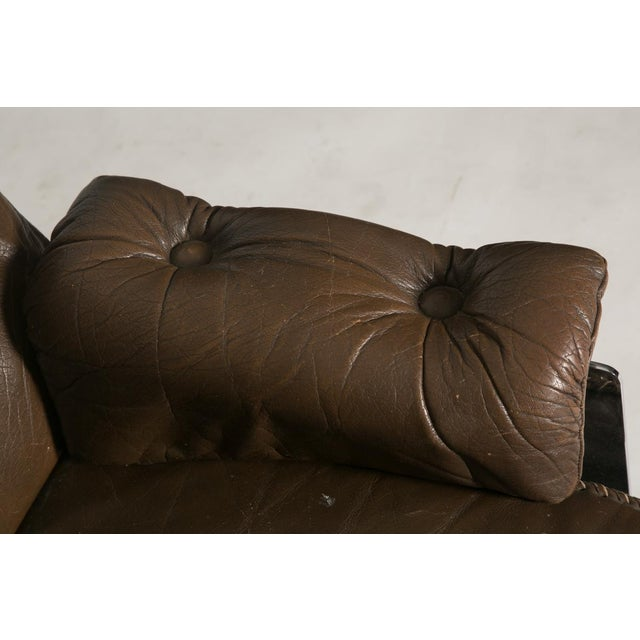 Arne Norell Leather Club Chairs - Set of 2 For Sale - Image 9 of 9