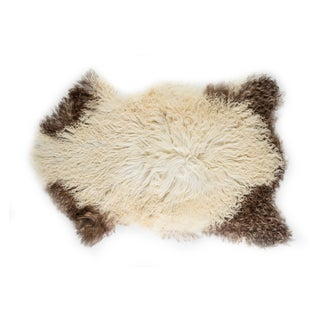 """Contemporary Natural Sheepskin Pelt - 2'2"""" x 3'4"""" Preview"""