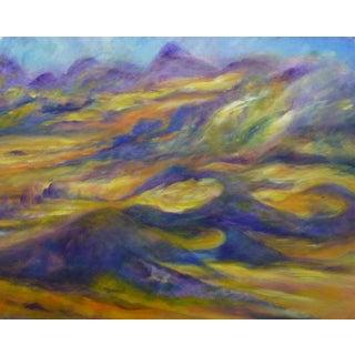 French Pastel - Desert Terrian For Sale