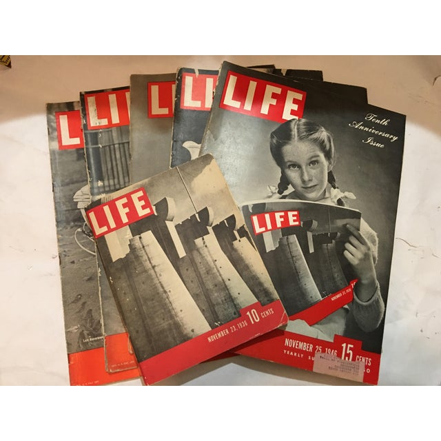 1936 Life Magazine First Historical Issues - Set of 6 - Image 2 of 11